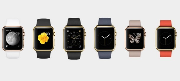 Модели Apple Watch Gold