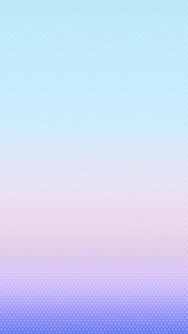 iOS 7 розовых точек