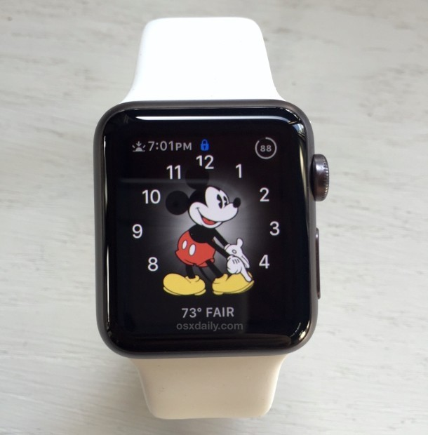 Mickey Mouse Apple Watch