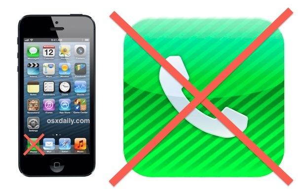 Отключите телефонные звонки, но сохраните данные iPhone